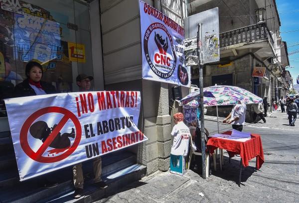 Primeros piquetes de huelga en defensa de la vida se instalarán cerca de Plaza Murillo