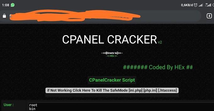 Crack Cpanel Dengan Script Cpanel Cracker