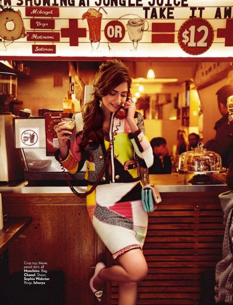 Sonam Kapoor Hot Looks Vivacious On Vogue Magazine -2911