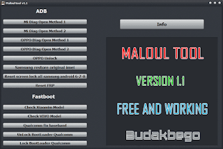 Maloul Tool Version 1.1 Free and Working [TESTED]