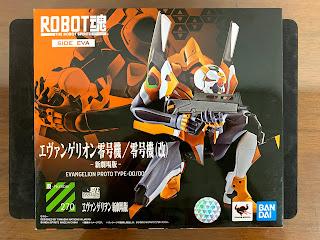 Robot魂 Eva 初號機 包裝盒正面