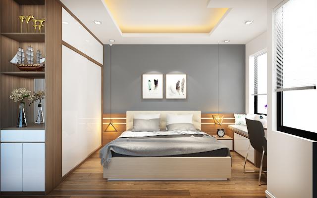 nội thất bằng gỗ công nghiệp ấn tượng
