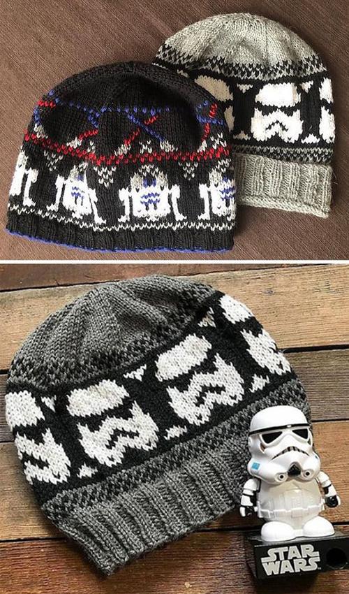 Storm Trooper Beanie - Free Pattern