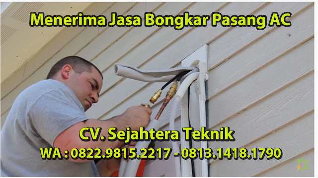 Jasa Cuci AC Daerah Rangkapan Jaya Baru - Pancoran Mas - Depok