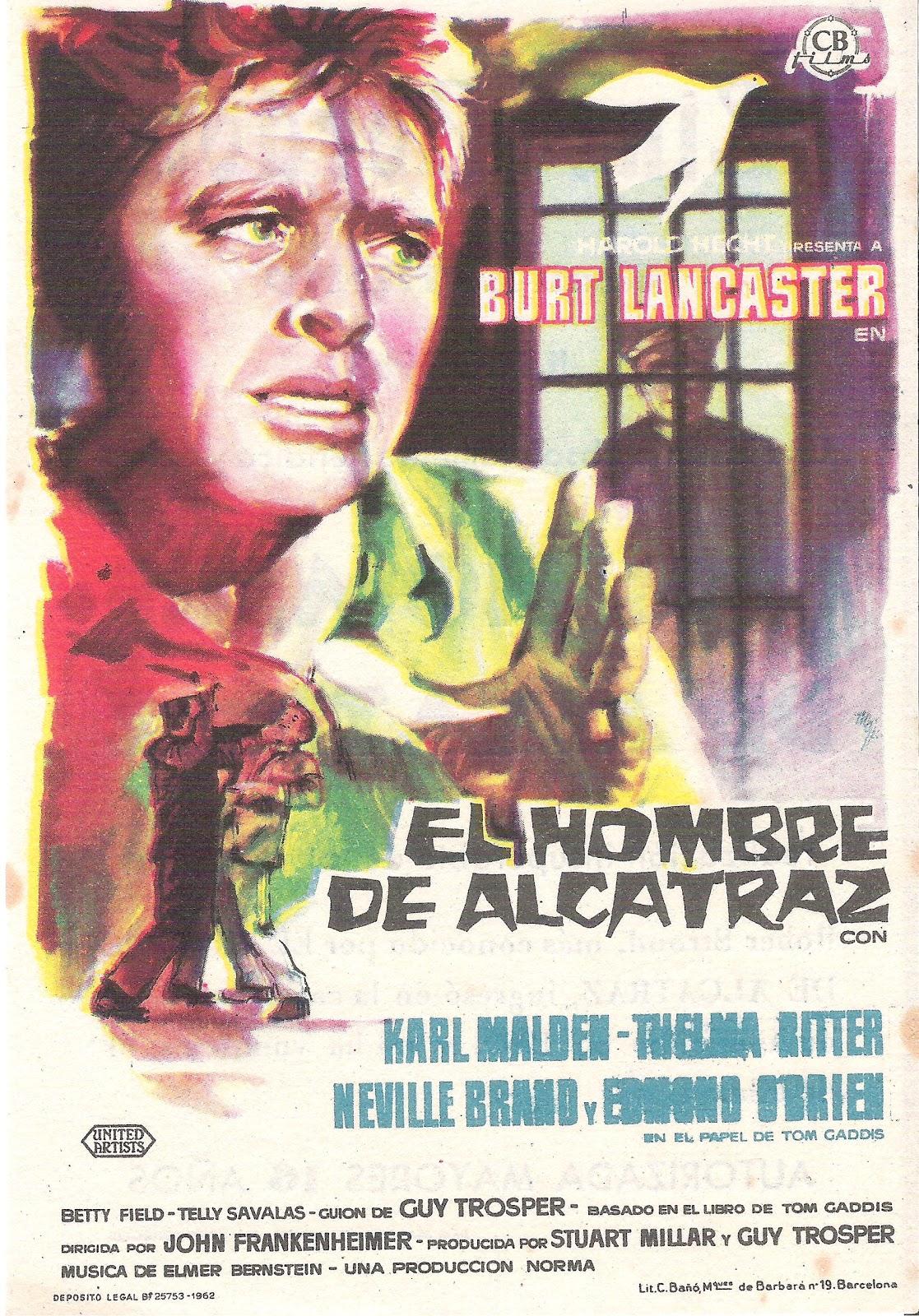 El hombre de Alcatraz - Online Tu Cine Clásico