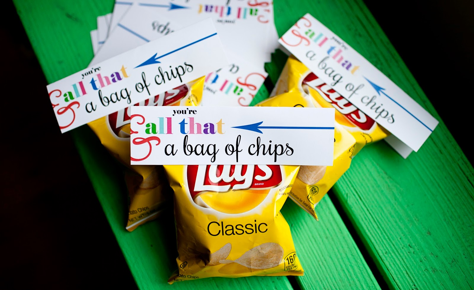 image about You're All That and a Bag of Chips Free Printable referred to as delighted gals are wonderful ladies: Youre All that . . .