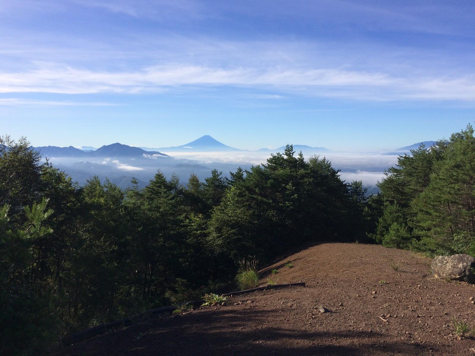 権現岳 天女山コース