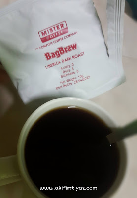 BagBrew Liberica Dark Roast