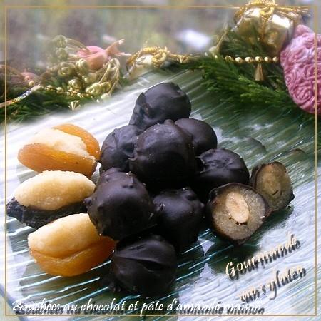 http://gourmandesansgluten.blogspot.fr/2011/12/bouchees-au-chocolat-et-pate-damande.html