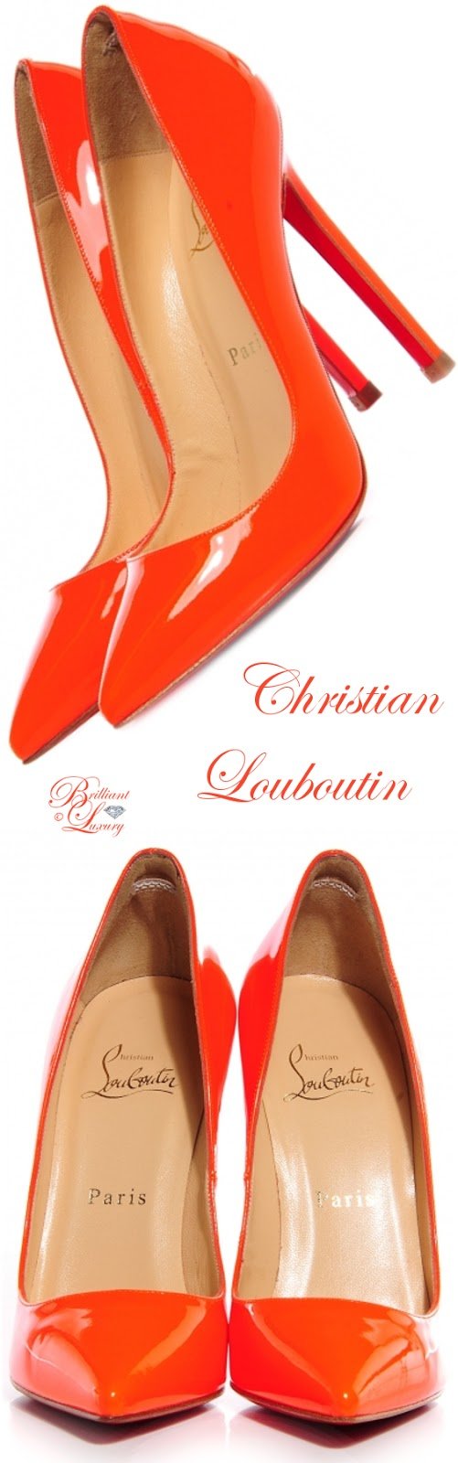 Brilliant Luxury ♦ Christian Louboutin Pigalle Pumps