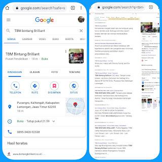 Pencarian Google Bisnisku