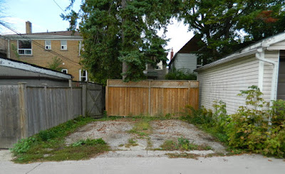 Toronto gardening services Hillcrest backyard cleanup before Paul Jung