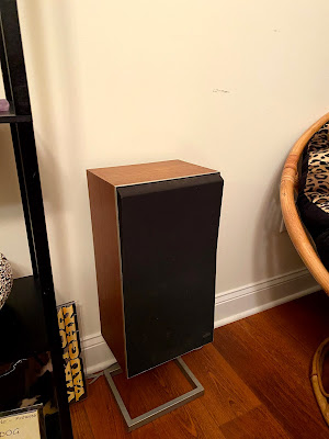 1970s era discontinued Bang and Olefsen speakers