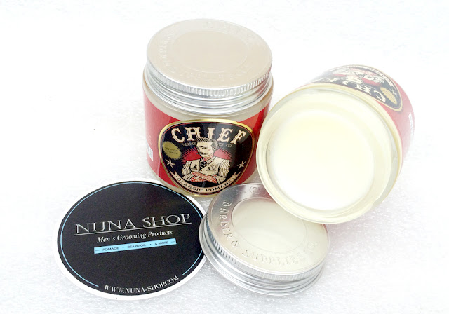 Chief Classic Pomade (Solid Hold Oilbased) Merah