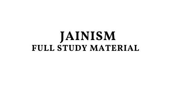 Jainism Full Study Material Pdf Download