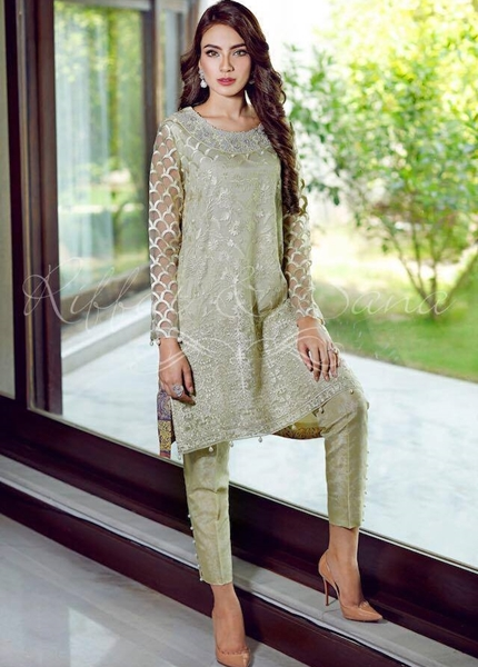 Sana Salman Exclusive Party Wear Dresses Collection 2017