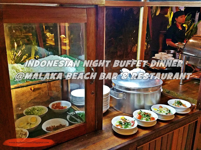 Lombok -  Indonesian Night Buffet @Malaka Beach Bar & Restaurant  | www.meheartseoul.blogspot.com