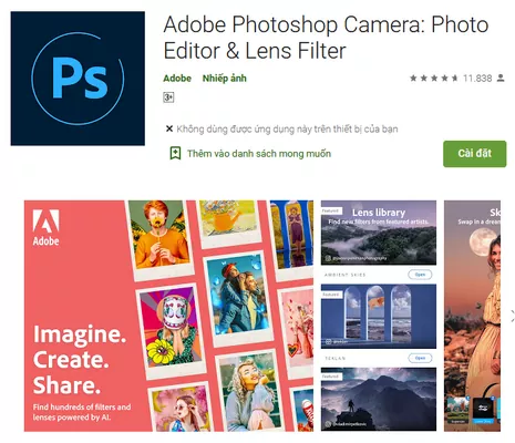 Adobe Camera App