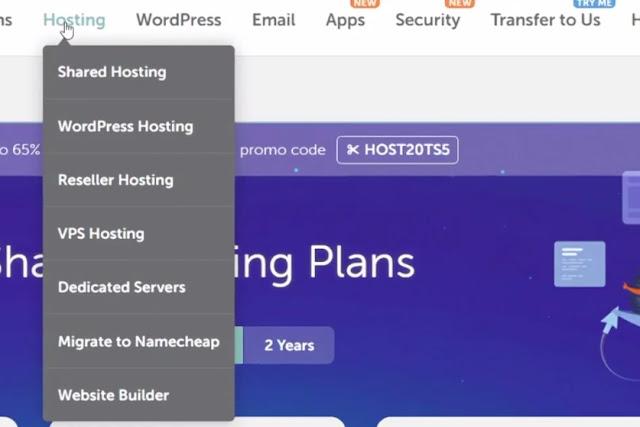 vps hosting, dedicated hosting of namecheap