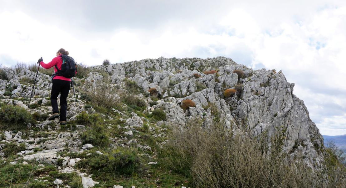 Near Pic de Courmettes summit
