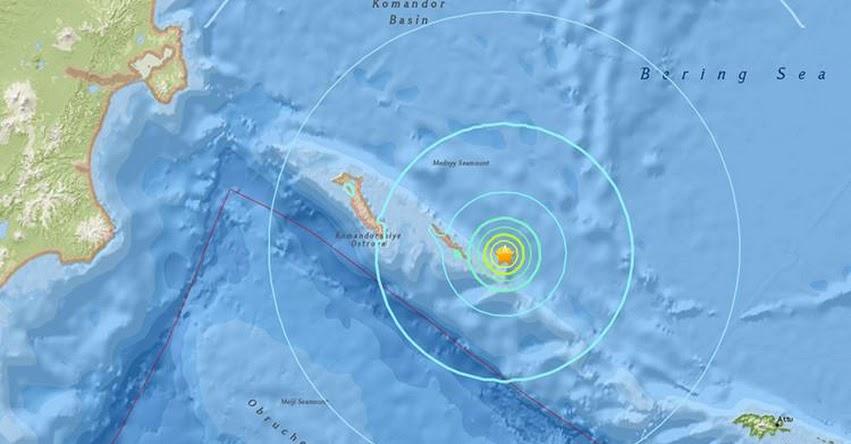 TERREMOTO EN RUSIA de 6.2 Grados - Alerta de Tsunami (Hoy Lunes 17 Julio 2017) Sismo Temblor EPICENTRO Nikolskoe - Islas Bering - Kamchatka - USGS