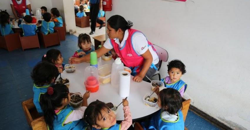 CUNA MÁS: Programa social aplica nuevos protocolos para garantizar calidad de alimentos que provee a niños - www.cunamas.gob.pe