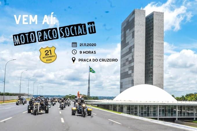 Politica:  Moto Paco Social acontece neste sábado