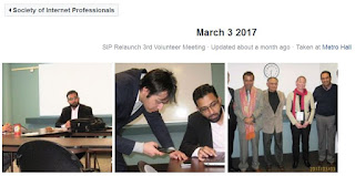 SIP Volunteers Meeting March 2017