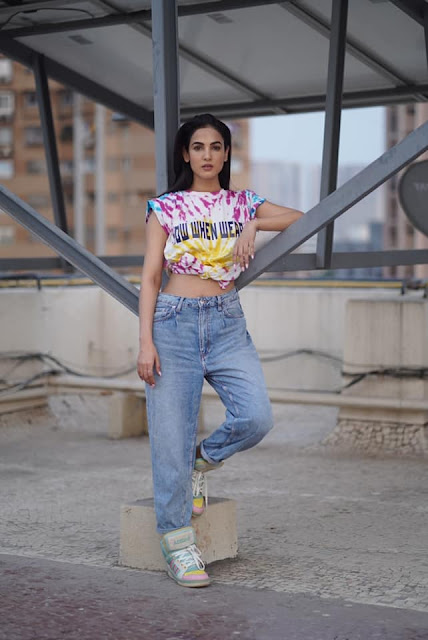 Actress Sonal Chauhan Latest Photos in Jeans Actress Trend