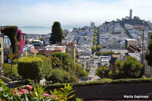 Guia y que ver en San Francisco Lombard Street