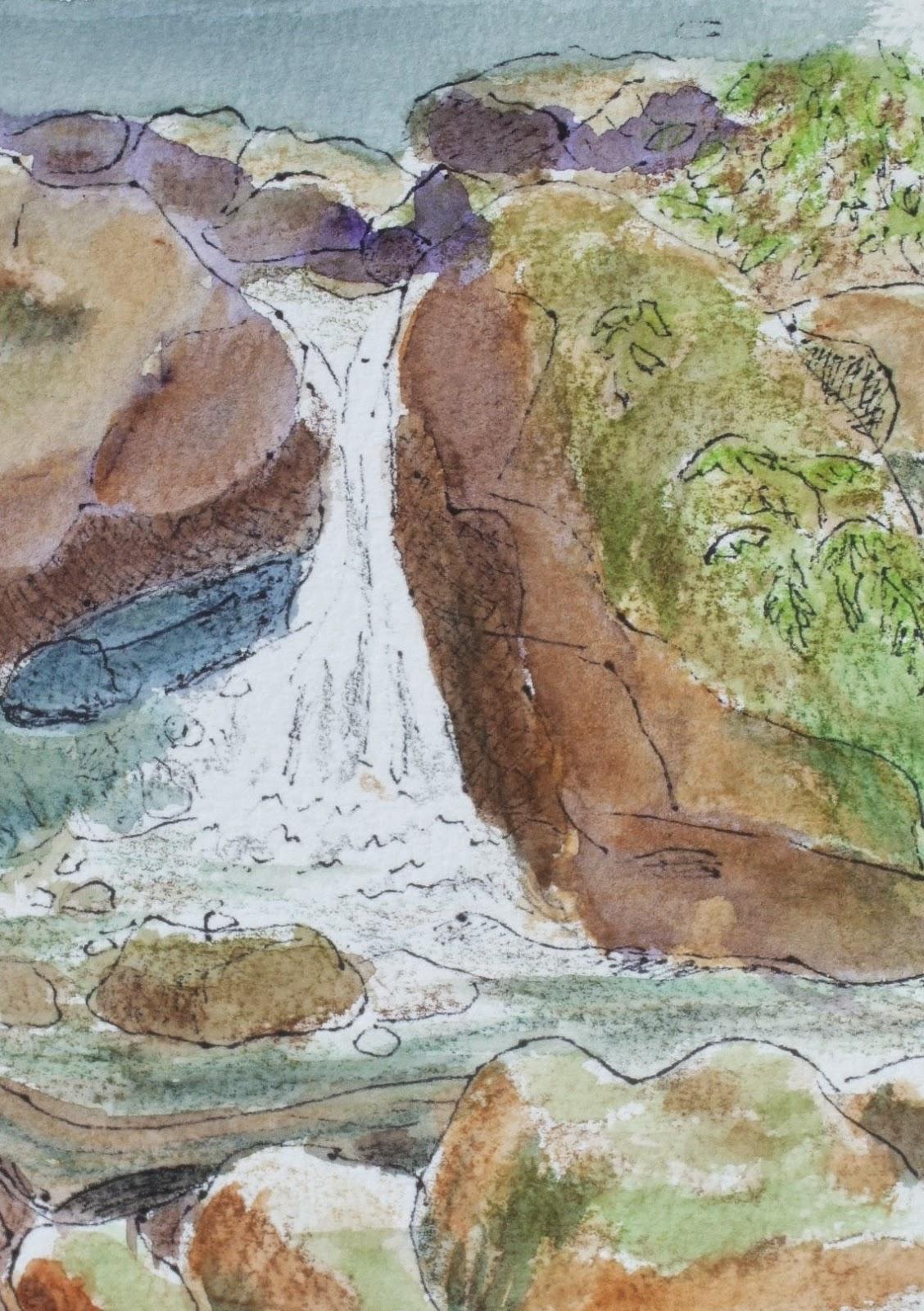 Paintsites Blog: Uvas Canyon County Park, Morgan Hill ...