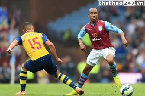 Tiền vệ tài năng của Aston Villa