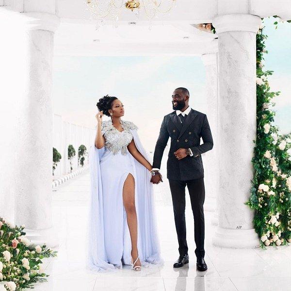 Ex-BBNaija housemates Khafi marries Gedoni (photos)
