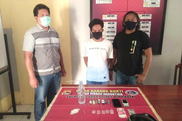 Polres Bima Kota amankan pemilik sabu di lingkungan Lewi Jambu