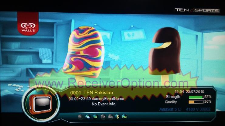 OPENBOX GENIUS HD RECEIVER 1506G SCB3 MENU TYPE TEN SPORTS NEW