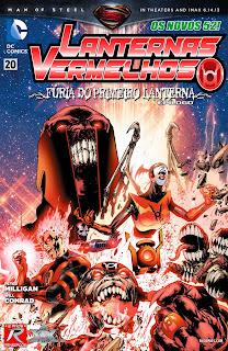 Os Novos 52! Lanternas Vermelhos #20