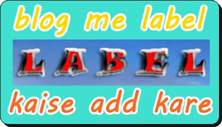 Blog me label kaise add kare