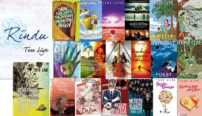 Buku-buku Tere Liye