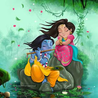 Radha Krishna Hd Image Photo For Status Dp, Radha Krishna Painting Whatsapp Dp Image. Radha Krishna Painting Image, Radha Krishna Painting photo, Radha Krishna Painting