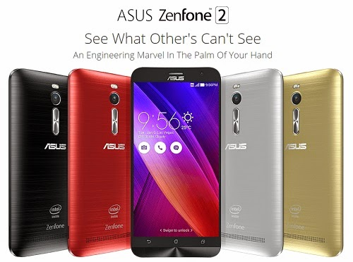 Harga dan Kualitas Asus Zenfone 2