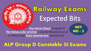 RPF SI Expected bits 2018 Railway Police Previous year Papers PDF Download