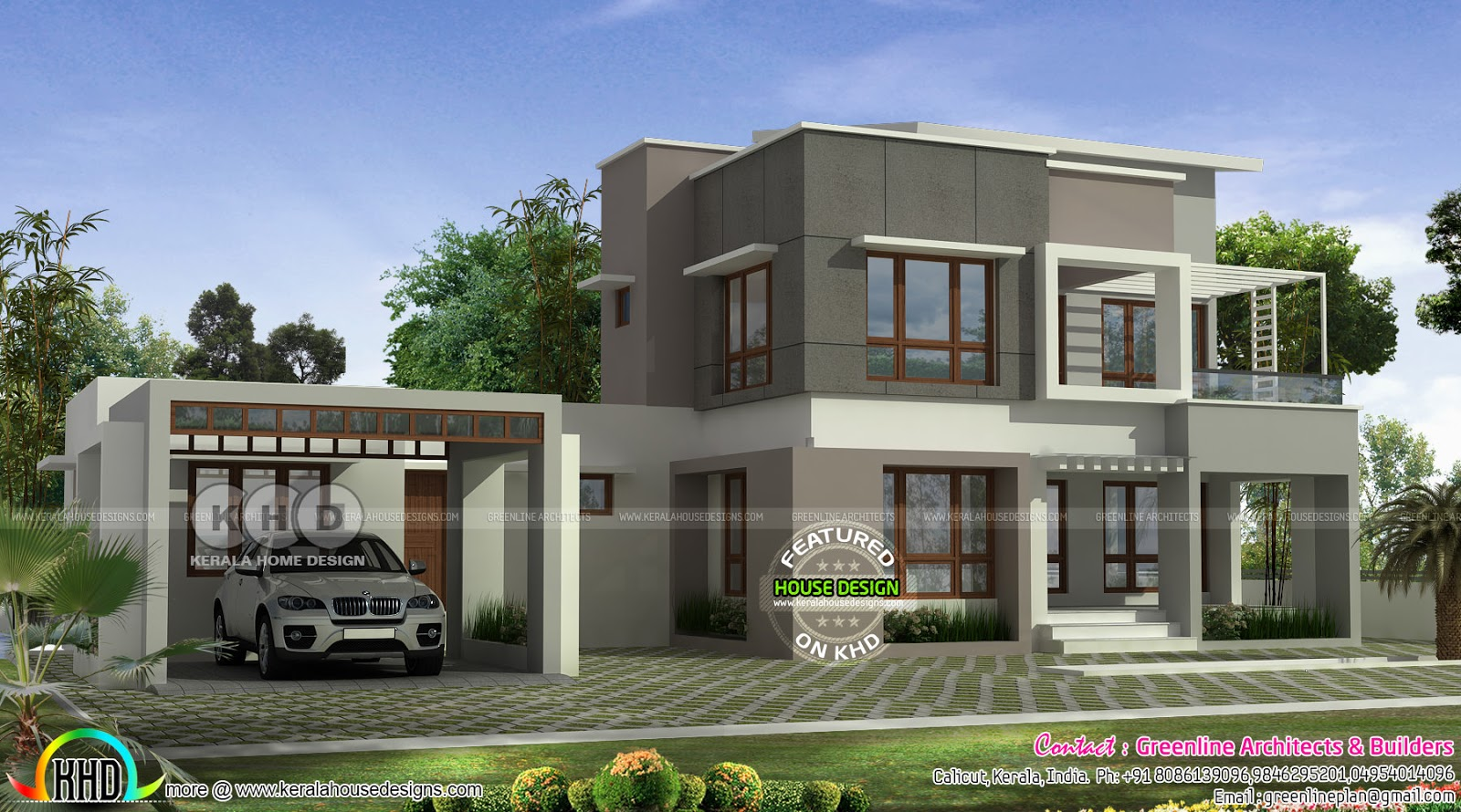 Old House To Contemporary New Style Renovation Kerala Home Design And Floor Plans