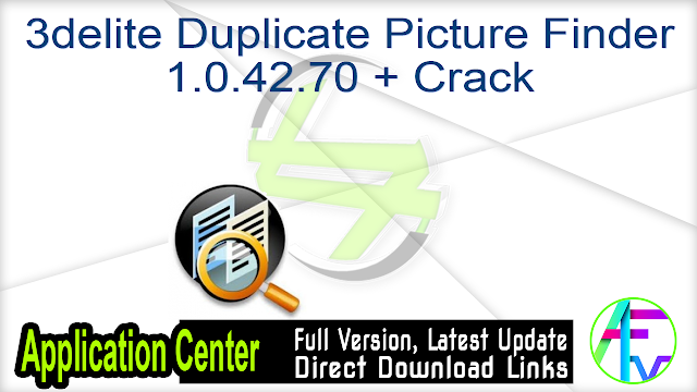 3delite Duplicate Picture Finder 1.0.42.70 + Crack