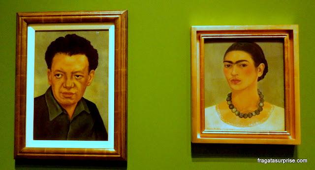 Retrato de Diego Rivera e Autorretrato, de Frida Kahlo