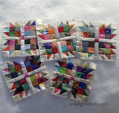 52 week quilt block challenge january