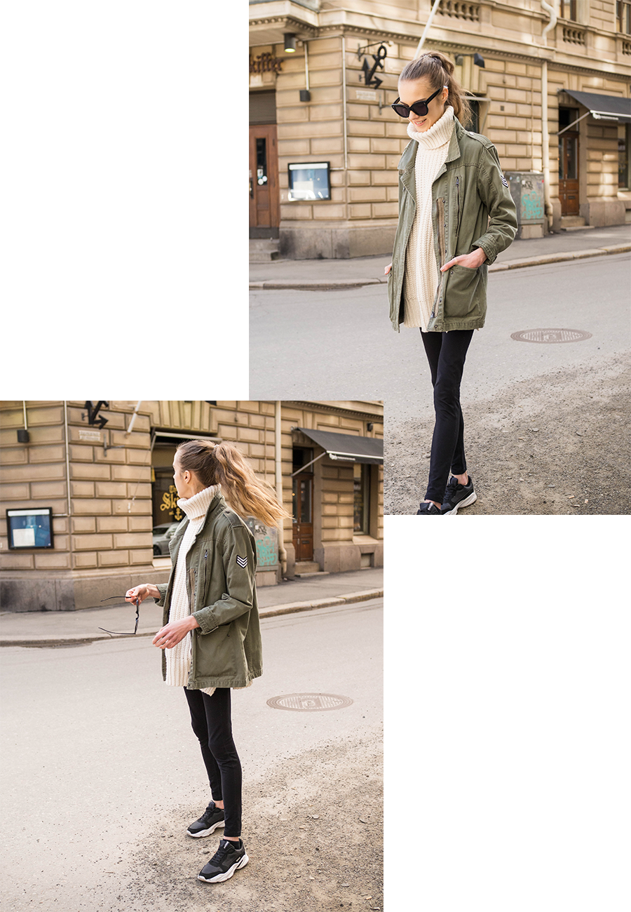 Kuinka stailata leggingsit // How to style leggings