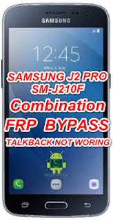 Samsung SM-J210F Combination Firmware/Stockrom/Flashfile Download For FRP Remove Latest Patch.