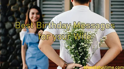 Best Birthday Messages for your Wife