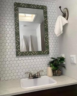RV Bathroom Renovation Progress