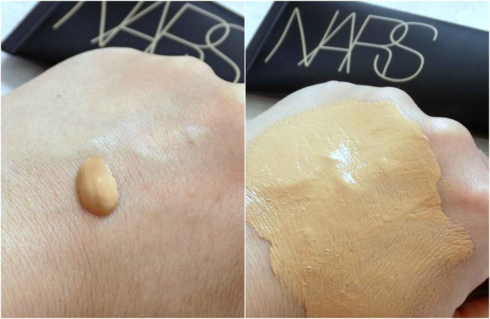 NARS Velvet Matte Skin Tint SPF30 - review, before & after photos ...